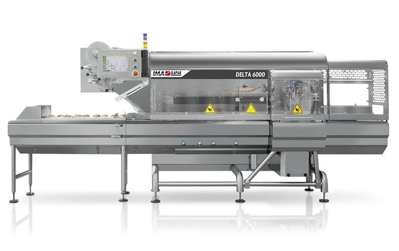 Ima Ilapak Delta 6000 horizontal flow wrap form fill and seal flow wrapper packaging machine